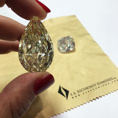 70 carat yellow diamond. This natural wonder is beautiful to touch