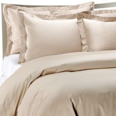 Palais Royale™ Hotel Collection Duvet Cover in Canvas - BedBathandBeyond.com