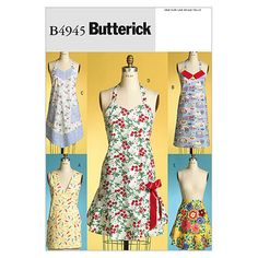 At Joann's.....Item #13238266 Aprons-All Sizes in One Envelope Pattern, , hi-res