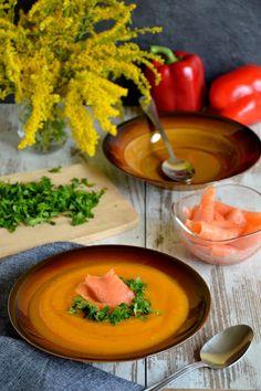 Passions, hobbies, life: Jesienna zupa krem z dyni, papryki i ziemniaków