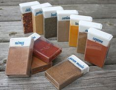 Use Tic-Tac boxes to store spices.