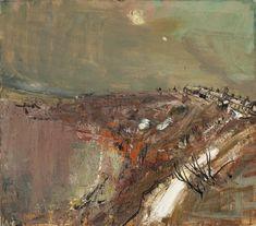 Joan Eardley Snow, Catterline x cm) Landscape Artwork, Abstract Landscape Painting, Contemporary Landscape, Pastel Landscape, Abstract Paintings, Oil Paintings, Glasgow School Of Art, True Art, Figure Painting