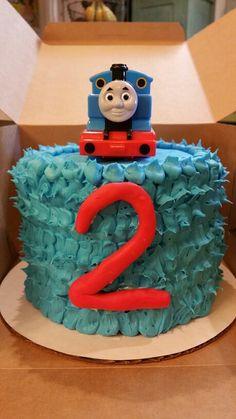 Pin By Phanita Primrose On Cake Thomas Birthday Cakes