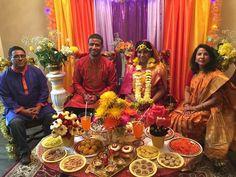 With bride's parents, 2016