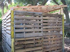 pallet shed plan | My Wood Pallet Shed Project - March 2009