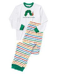 It's finally here! Adult-sized Very Hungry Caterpillar #sleepwear from #TheWorldOfEricCarle and @Gymboree! #sponsored