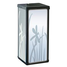 Smart Solar 3010WRM1 Frosted Dragonfly Outdoor Table Lamp