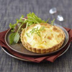 Découvrez la recette de la tarte aux pommes de terre et au reblochon