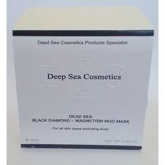 Deep Sea Cosmetics Black Diamond - Magnetism Mud Mask