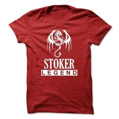 Dragon - STOKER Legend TM003 - #shirt details #maroon sweater. PURCHASE NOW => https://www.sunfrog.com/Names/Dragon--STOKER-Legend-TM003.html?68278