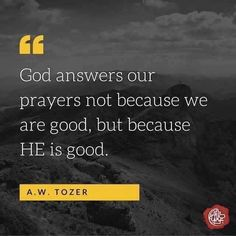 YES! What a wonderful God we serve.
