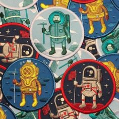 The Adventure Club series is back, each patch is $5 and can be purchased at the link in @alexriegertwaters bio. There are 100 more of each, This set may not be reprinted again so get them while you can. #alexriegertwaters #adventureclub #adventure...