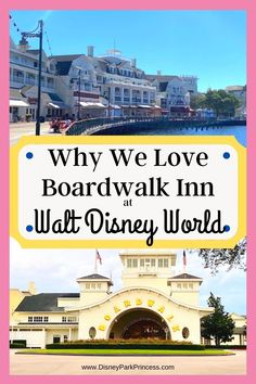 Disney's Boardwalk Inn is often overlooked at Walt Disney World. Learn why we LOVE this Deluxe Resort and think you should stay there for your next vacation! Disney Resort Hotels, Disney World Hotels, Walt Disney World Vacations, Disney Travel, Hotels And Resorts, Disney Parks, Disney Vacation Planning, Disney World Planning, Disney World Tips And Tricks