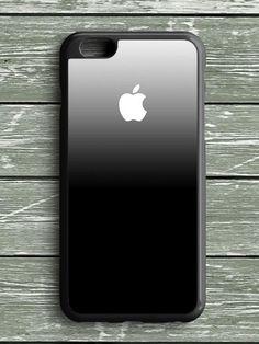 Black White Apple Gradient iPhone 6S Plus Case