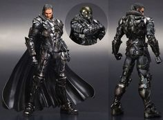 Play Arts Kai Man of Steel Zod figure.
