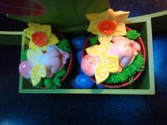 Easter/Spring Cup Cakes
