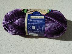 Novita Puro Batik - purple and white