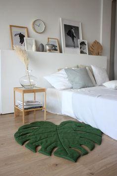 Green Leaf Play Mat, Monstera Decor for Tropical Nursery Home Crafts, Diy Home Decor, Tropical Nursery, New Room, Room Inspiration, Sweet Home, Bedroom Decor, House Design, Living Room