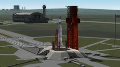 Kerbal Space Program - Ranger 8 - RSS