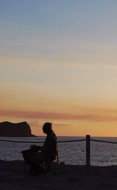 Tambores Ibiza - Foto de aizea fotografía. Ibiza Sunset, Great Love, Celestial, Outdoor, Sunsets, Islands, Viajes, Outdoors, Outdoor Games