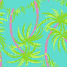 Partial for Palms Lilly Pulitzer print