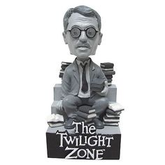 The Twilight Zone Henry Bemis Bobble Head - Bif Bang Pow! - Twilight Zone - Bobble Heads at Entertainment Earth Quatrième Dimension, Twilight Zone Episodes, Wacky Wobbler, Living Dead Dolls, Horror Decor, Beloved Book, Scary Monsters, Horror Movie Posters, Music Film