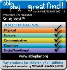 """We've received the """"AblePlay Great Find"""" seal!"""