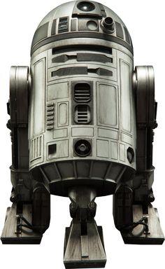 R2-D2 Unpainted Prototype Sixth Scale Figure
