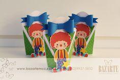 Circo vintage caixa personalizada  festa infantil