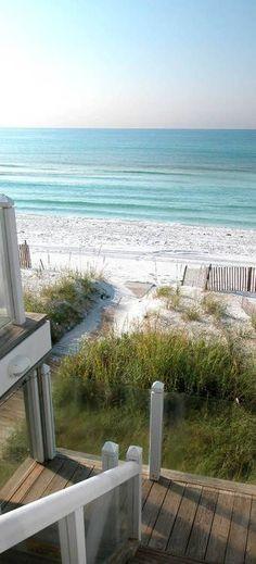 love the white sand