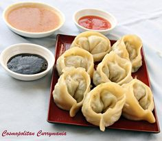 Nepali Mutton Momo and Three Mouth-Watering Momo Dips  Nepali mutton momos are the cousins of the Chinese dumplings or dimsums. Celebrate CNY with these special treats, with great dips!