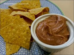 Oh, I love dips! From gooey cheesy fatty ones to healthy cool tomato salsas. And bean dips aren't exactly. Dips, Frito Lay, Bean Dip, Peanut Butter, Bee, Healthy, Ethnic Recipes, Kitchen, Food