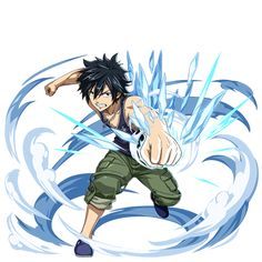 The Fairy's Tales — Elemental Story x Fairy Tail Dragon Cry collab Fairy Tail Gray, Fairy Tail Natsu And Lucy, Fairy Tail Love, Fairy Tail Ships, Fairy Tail Anime, Fairy Tail Characters, Anime Characters, Weekly Shonen Magazine, Fairy Tail Photos