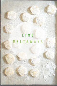 Lime Meltaways. Deli