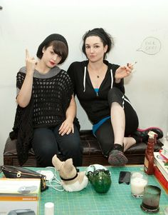 Lindsey Way and Jessicka Addams Tim Burton, Gerard Way Wife, Ashley Costello, Lindsey Way, Mindless Self Indulgence, Charlotte Gainsbourg, Queen Of Everything, Love U So Much, Badass Women