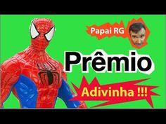 Pegadinha Adivinha Desafio Prêmio boneco Homem Aranha  Marvel respostas ...