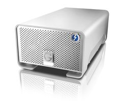 G-RAID with Thunderbolt quarter top 8TB $799.95 4TB $599.95