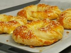Cookbook Recipes, Cooking Recipes, Bread Dough Recipe, Around The World Food, Tasty Videos, Greek Cooking, Dessert Dishes, Greek Recipes, Different Recipes