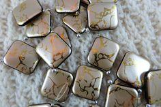Marqueurs de point de tricot | S'accrocher au point gratuit Markers| Marqueurs de Snagless | Marqueurs métalliques or et noir