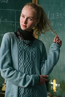 Ravelry: Atomic Pullover pattern by Cassie Castillo, knit in Kelbourne Woolens Andorra Cable Knitting, Sweater Knitting Patterns, Knitting Stitches, Knit Sweaters, Ravelry, Knitted Blankets, Knitted Hats, Celtic, Baby Pullover