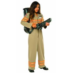 Ghostbusters Movie: Ghostbuster Female Deluxe Adult Costume Plus