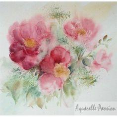pivoines simples roses