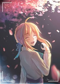 Anime Girl Cute, Kawaii Anime Girl, Type Moon Anime, Arturia Pendragon, Fate Stay Night Anime, Image Manga, Fate Anime Series, Fate Zero, Sword Art