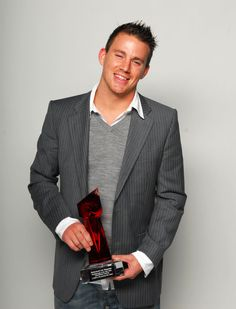 100 Hot Channing Tatum Pictures!: Channing Tatum won a December 2006 award for A Guide to Recognizing Your Saints.