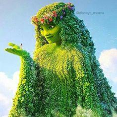 Beautiful Te Fiti from Moana Disney Films, Disney Pixar, Walt Disney, Disney And Dreamworks, Disney Magic, Disney Characters, Moana Disney, Moana Birthday Party, Moana Party