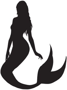 How to draw a mermaid silhouette 58 ideas for 2019 Ballerina Silhouette, Silhouette Clip Art, Mermaid Silhouette, Silhouette Images, Mermaid Tattoo Designs, Mermaid Drawings, Mermaid Images, Mermaid Pictures, Transférer Des Photos