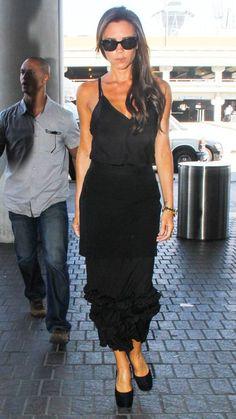 Victoria Beckham - Petite celebrities with style. Re-pin via petitestyleonline...... - Celebrity Street Style