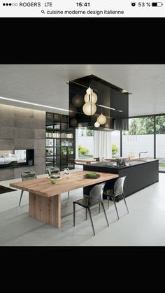 Contemporary Kitchen Design view in gallery exquisite modern kitchen design from arrital VNTPPXO - Kitchen Ideas Home Decor Kitchen, Interior Design Kitchen, New Kitchen, Kitchen Designs, Kitchen Ideas, Kitchen Modern, Kitchen Small, Kitchen Layouts, Stylish Kitchen
