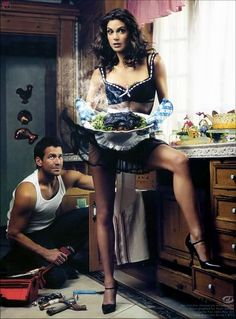 Desperate Housewives - Teri Hatcher and James Denton by Mark Seliger - one of my favourite photographs about them. Desperate Housewives, Terri Hatcher, James Denton, Superman, Mark Seliger, Pin Up, Bond, Domestic Goddess, Eva Longoria