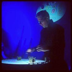 Reactable concert by Bastinado - Instagram photo by @moduloktopus (Moduloktopus) | Statigram